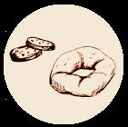 Taralli, fresella e biscotti